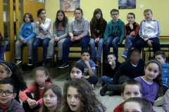 "French children from School ""Petit-Paris"" (Brest)"