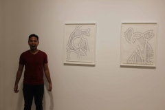 Visual Diaries 19 - White Medium 1 and 2